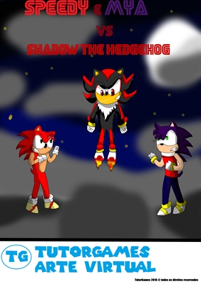 Fanfic / Fanfiction Speedy Mya Vs. Shadow the hedgehog