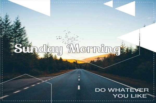 Fanfic / Fanfiction Sunday Morning