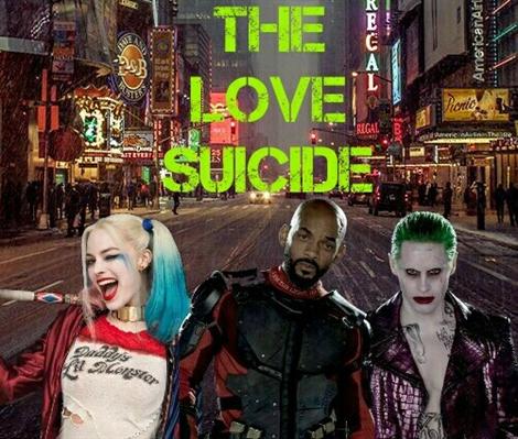 Fanfic / Fanfiction The Love Suicide (Arlequina e Coringa)