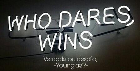 Fanfic / Fanfiction Verdade ou Desafio, Youngjae?