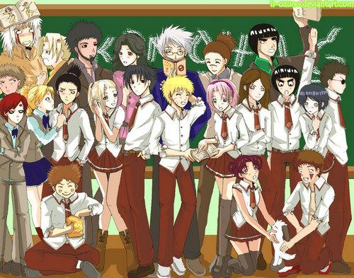 Fanfic / Fanfiction Naruto Da Z0E1R4! - Período Escolar