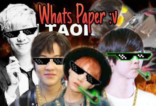 Fanfic / Fanfiction Whats Paper :v