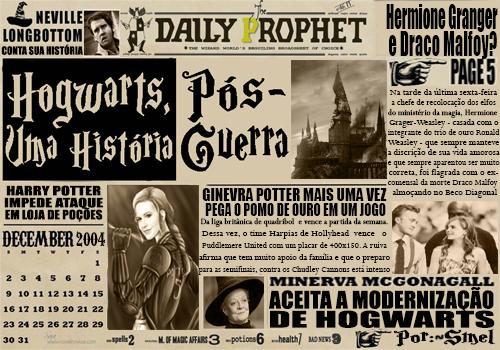 Fanfic / Fanfiction Hogwarts, Uma História - Pós-guerra