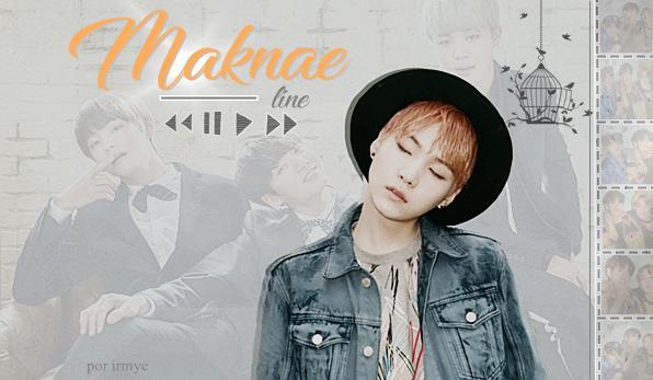 Fanfic / Fanfiction Maknae Line - yoongi.maknaeline