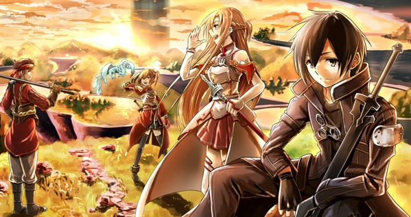 Fanfic / Fanfiction Sword Art Real