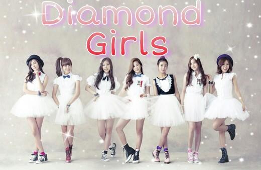 Fanfic / Fanfiction Diamond Girls -Interativa (BTS)
