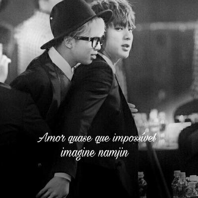 Fanfic / Fanfiction Imagine namjin ..Amor quase que impossível..