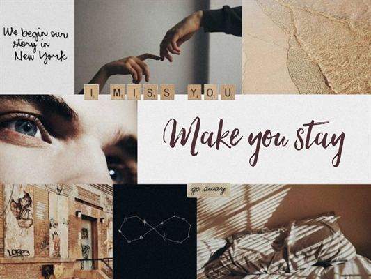 Fanfic / Fanfiction Make you Stay (short fic - malec)