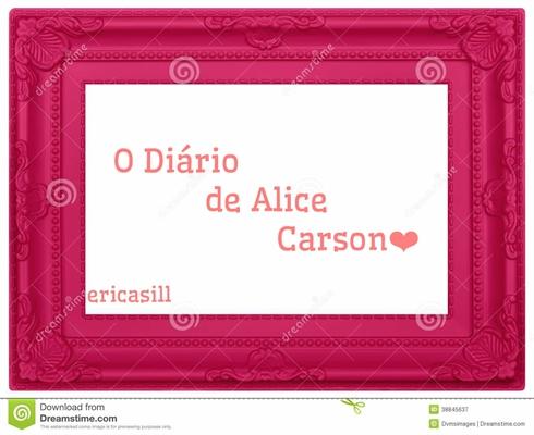 Fanfic / Fanfiction O Diário de Alice Carson