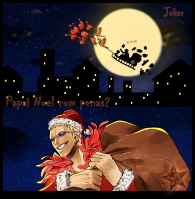 Fanfic / Fanfiction Papai Noel com penas?