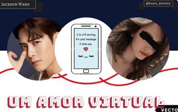 Fanfic / Fanfiction Um amor virtual - Jackson Wang