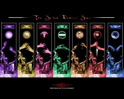 Fanfic / Fanfiction Os Sete Pecados Capitais