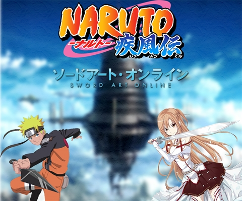 Fanfic / Fanfiction Naruto: Sword Art Online