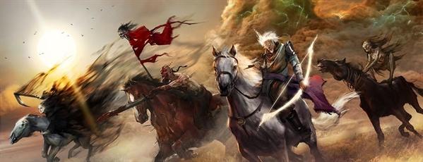 Fanfic / Fanfiction Os Quarto Cavaleiros do Apocalipse