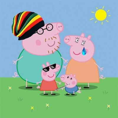 Fanfic / Fanfiction Mc Peppa Pig