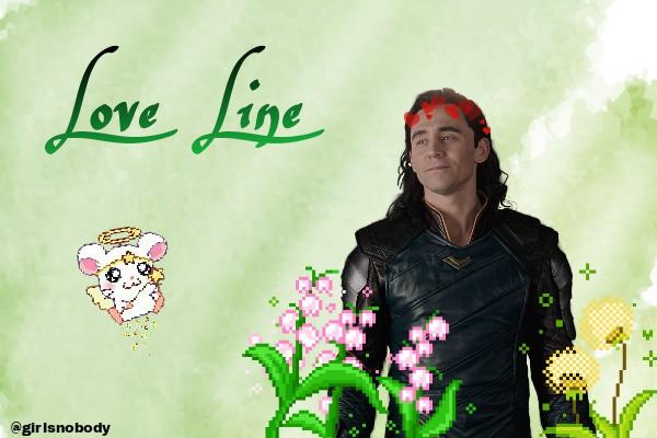 História Love Line (Loki Laufeyson) - História escrita por