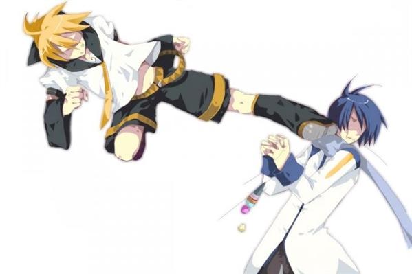 Fanfic / Fanfiction Ask Len e Kaito