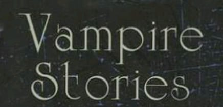 Fanfic / Fanfiction Vampire Stories (Em Revisão)