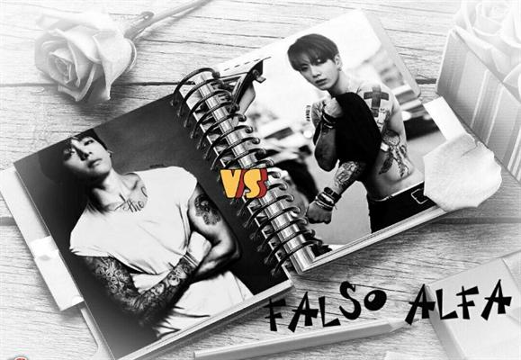 Fanfic / Fanfiction Falso Alfa (Taekook) ABO