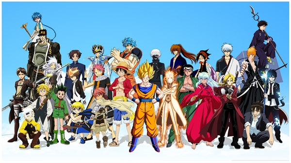 Fanfic / Fanfiction Anime X anime