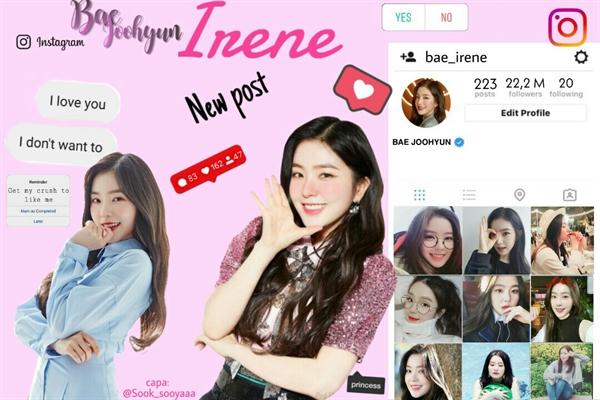 Fanfic / Fanfiction Instagram bae joohyun (imagine irene)