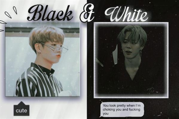 Fanfic / Fanfiction Black And White -Imagine Jikook Hot