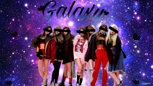 Fanfic / Fanfiction Galaxy-Interativa kpop