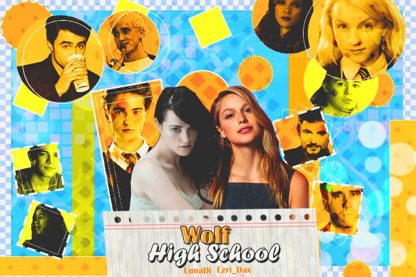 Fanfic / Fanfiction Wolf High School