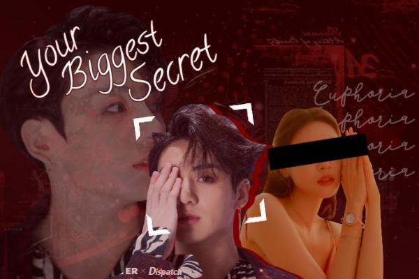 Fanfic / Fanfiction Your biggest secret - imagine jungkook