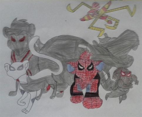 Fanfic / Fanfiction A Guarda Dos Aranhas