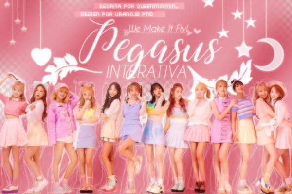 Fanfic / Fanfiction PEGASUS - interativa kpop