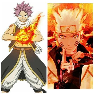 Fanfic / Fanfiction Naruto e Fairy Tail: Trabalhando Juntos