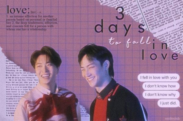 Fanfic / Fanfiction 3 days to fall in love — 2Jae (got7)