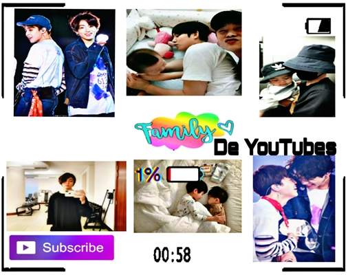 Fanfic / Fanfiction Família de YouTubes - Jikook