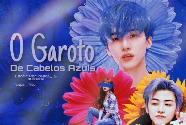 Fanfic / Fanfiction O garoto de cabelos azuis - Imagine Na Jaemin (NCT)