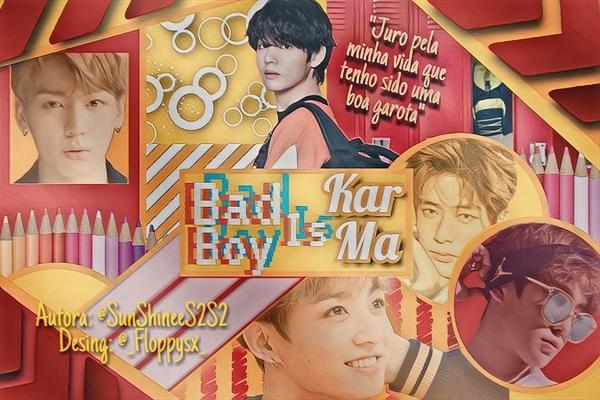 Fanfic / Fanfiction Bad boy is karma - Kim Taehyung