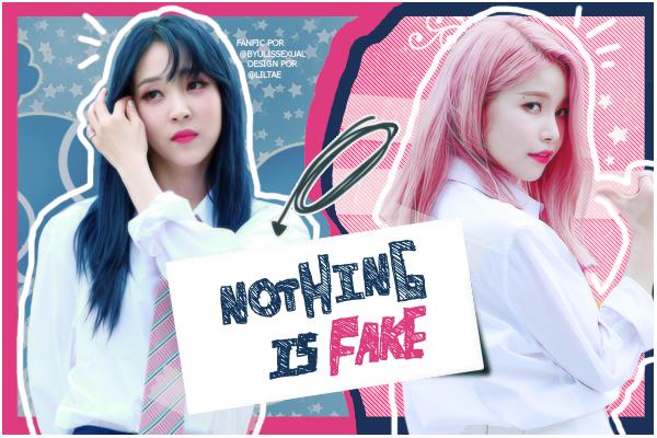 Fanfic / Fanfiction Nothing is Fake - Moonsun