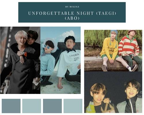 Fanfic / Fanfiction Unforgettable night (Taegi) (ABO)