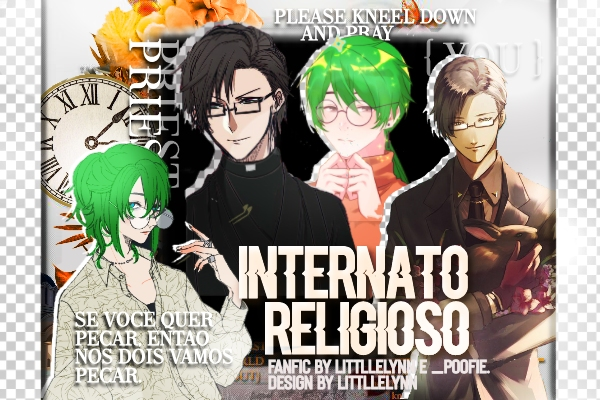 Fanfic / Fanfiction Internato religioso - Yaoi.