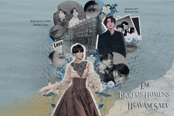 Fanfic / Fanfiction Em 1900 os homens usavam saia (Jikook)
