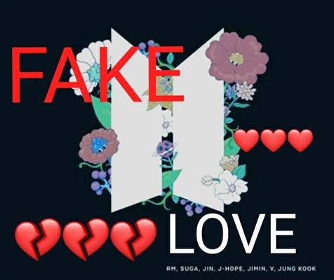Fanfic / Fanfiction Fake love