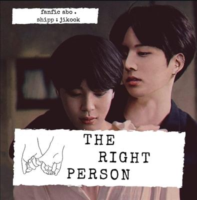 Fanfic / Fanfiction THE RIGHT PERSON (jikook . Kookmin )