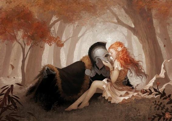Fanfic / Fanfiction A doce primavera - Hades e Perséfone.