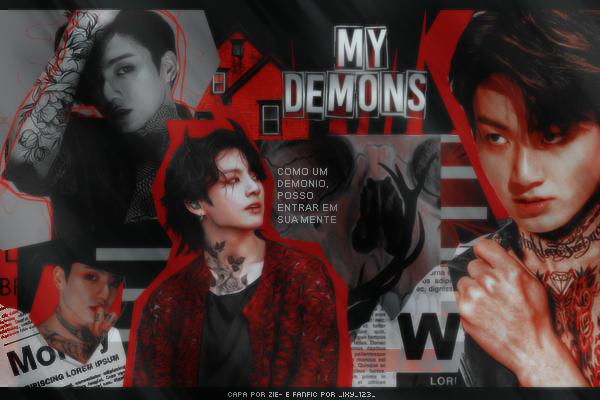 Fanfic / Fanfiction My Demons (imagine Jeon Jungkook)