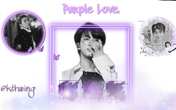 Fanfic / Fanfiction Purple Love; (Namjin)