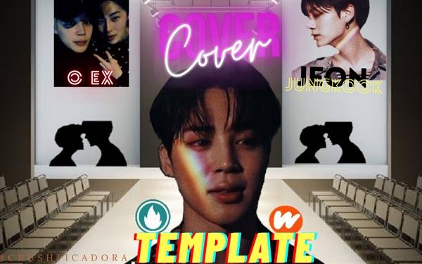 Fanfic / Fanfiction Cover Template (jikook)