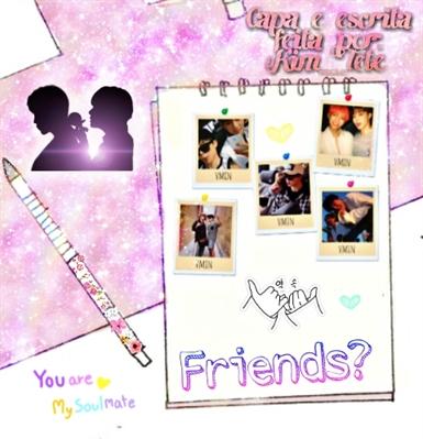 Fanfic / Fanfiction Friends? (Vmin)