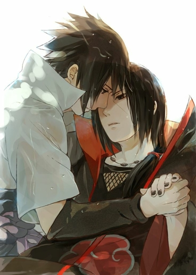 Fanfic / Fanfiction Me ensina? (Itachi x Sasuke)
