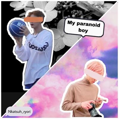 Fanfic / Fanfiction My paranoid boy (Nomin)