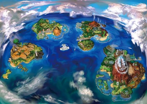 Fanfic / Fanfiction Pokémon: Aventuras em Alola.